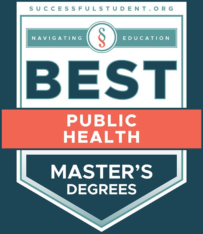 10 Best Master's Degree Programs in Public Health's Badge