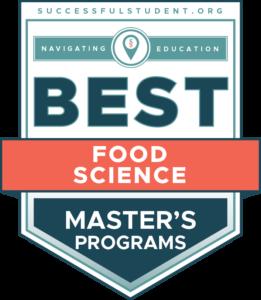 10 Best Master's in Food Science Programs's Badge