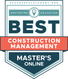 10 Best Online Master's in Construction Management Degree Programs's Badge