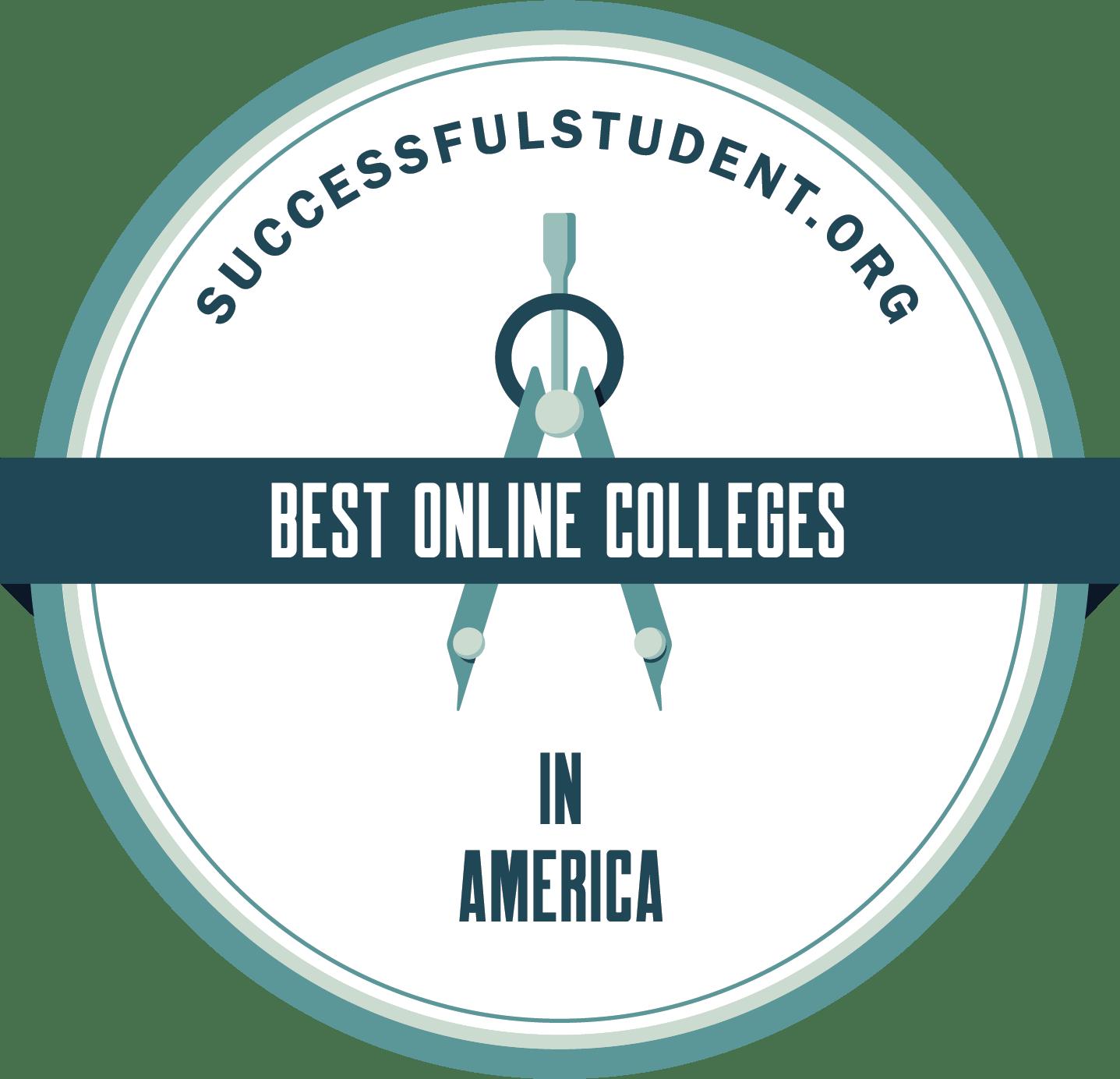 30 Best Online Colleges in America's Badge