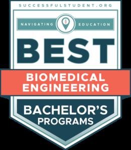 10 Best Bachelor's in Biomedical Engineering Programs's Badge