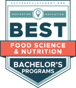 10 Best Bachelor's in Food Science and Nutrition Programs's Badge