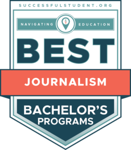 10 Best Bachelor's in Journalism Programs's Badge