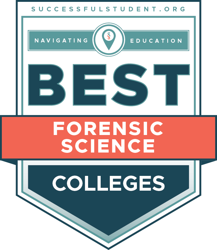 10 Best Forensic Science Colleges's Badge