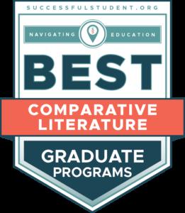 10 Best Graduate Programs in Comparative Literature's Badge