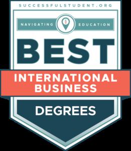 10 Best International Business Degree Programs's Badge