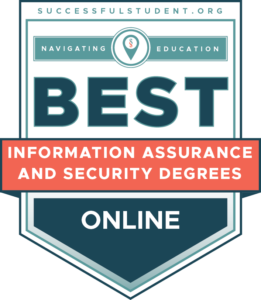The 20 Best Online Master of Information Assurance & Cyber Security Degrees's Badge