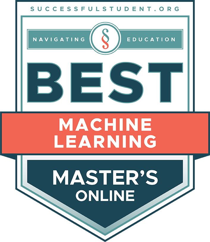 The Best Online Master's Degrees in Machine Learning's Badge