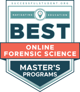The 11 Best Online Master's in Forensic Science Degree Programs's Badge