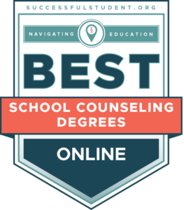Best Online Master's in School Counseling Degrees's Badge