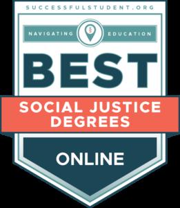 Best Online Social Justice Degrees's Badge
