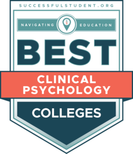 10 Best PhD Programs in Clinical Psychology's Badge