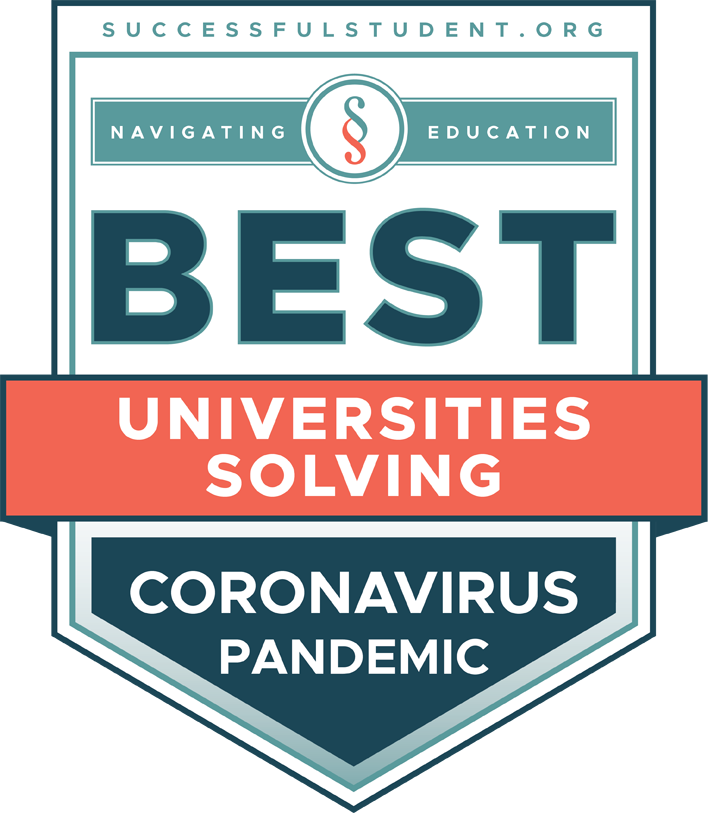 The Best Universities Solving the Coronavirus Pandemic's Badge