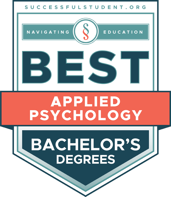 The Best Bachelor's Degrees in Applied Psychology's Badge