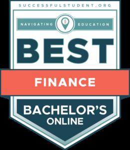 The Best Online Bachelor's Degrees in Finance's Badge