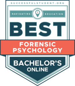The Best Online Bachelor's in Forensic Psychology Degree Programs's Badge
