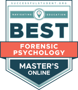 The Best Online Master's in Forensic Psychology Degree Programs's Badge