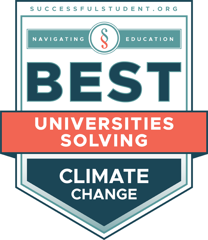 The Best Universities Solving Climate Change's Badge
